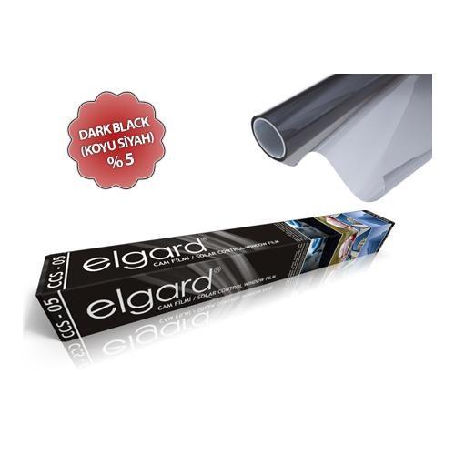 Elgard Dark Black (Koyu Siyah) Çizilmez Cam Filmi CCS-05 (50cm x 6m)