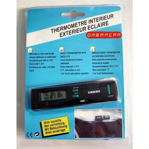 Dreamcar İç-Dış Dijital Termometre 28070