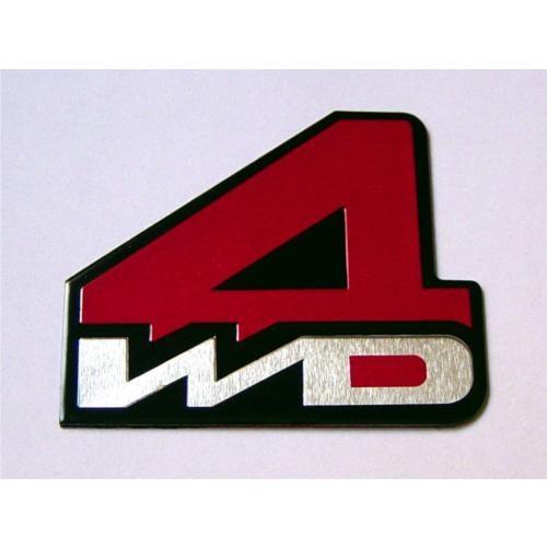 Dreamcar Metal Amblem ''4WD'' 8000106