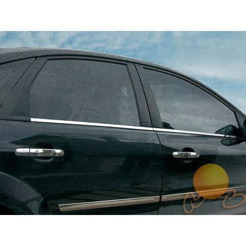 Citroen C4 Cam Çıtası Paslanmaz (4-PARÇA)