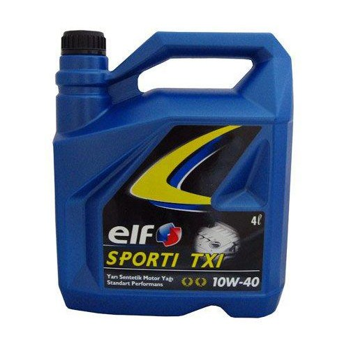Elf Sporti Benzin,dizel,lpg 10W/40 4 Lt Motor Yağ 652022