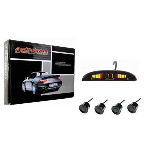 Autovision SİYAH SENSÖRLÜ Ekranlı Park Sensörü 842282