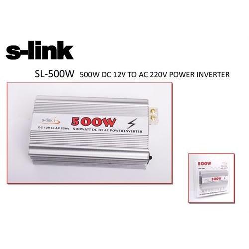 S-Link SL-500W 500W DC12V TO 220V Inverter
