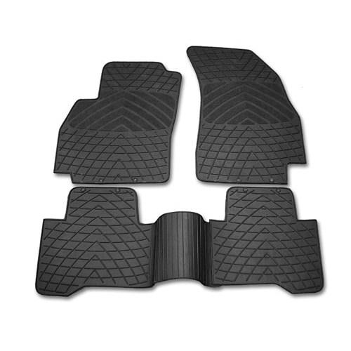 Automix Automix Fiat Fiorino Citroen Nemo Peugeot Bipper Combi Uyumlu Oto Paspas Seti Siyah