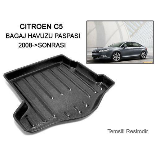 Automix Citroen C5 Bagaj Havuzu Paspası 2008->Sonrası