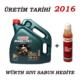 Castrol Magnatec 10W-40 A3/B4 4 lt Motor Yağı ( Benzin, Lpg ) ( Üretim Yılı : 2016 )