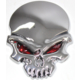 ModaCar Chrome Skull 6 Cm Metal Arma 104738
