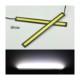 Gündüz Ledi Beyaz 14Cmx1,5Cm İnce Süper Parlak Siyah Çerçeve 12V