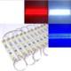 Modül Led 3 Ledli Mavi 12V 1,5Cmx8Cm