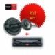 Sony DSX-A200 USB li Oto Teyp + XS-GT1738F 17cm Hoparlör 17cm Hoparlör Seti