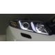 Civic Honda 2012 - Sonrası Ledli Siyah Far (Set)