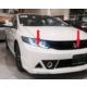 Civic Honda 2012 - Sonrası Rr Ön Tampon - Boyalı