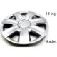 ModaCar 2S Racing 14 İnç Jant Kapağı 4 lü Set 104850