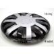 ModaCar 2S Racing 16 İnç GRİ+SİYAH Jant Kapağı 4 lü Set 104853