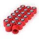 Modacar Bmw Kırmızı Bijon Kapağı 24 Adet 104769