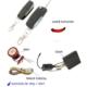 Modacar Motorsiklet Ve Atv Alarm Seti Sustalı Anahtar 81B066