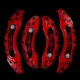 Modacar Alfa Romeo Ön-Arka Kaliper Kapak Seti 104859