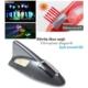 Tvet Anten Süs Balık Gunmetal İkaz Işıklı Güneş Enerjili Sensörlü