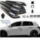 Tvet Kapı Kenar Koruyucu Wrc Carbon Fiber 4'lü 10Cm