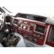 Tvet Ford Transit 2006 2013 22 Parça Torpido Kaplaması Karbon