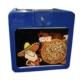 Prc Pizza Çantası Tmp03 Mavi /3 Tepsili /5Ad Rklm Alan Giriş :43Cm /43 Cm - İç : 45Cm/45Cm