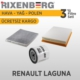 Rixenberg Filters Renault Laguna 3'Lü Filtre Seti