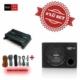 Sony XM-N502 2 yollu Amfi ile XS-NW1200E Kabinli Subwoofer Set.Kablo Seti