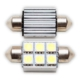 Sofit Ampul 6 LED Beyaz 12V 34Mm Can Bus