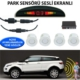 Forza Park Sensörü Ekranlı Ses İkazlı Beyaz Sensör