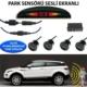 Forza Türkçe Konuşan Park Sensörü Ekranlı Siyah