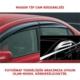 Sunplex Hyundai Accent Era 2006-2012 Ön Arka Cam Rüzgarlığı Mugen Tip