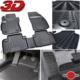 Bosse Fiat Doblo 3D Havuzlu Oto Paspas 2010 Sonrası 1. Kalite