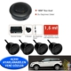Ozy Park Sensörü Ses İkazlı Buzzerlı Siyah Sensörlü