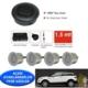 Ozy Park Sensörü Ses İkazlı Buzzerlı Gri Sensörlü