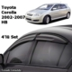 Kgn Cam Rüzgarlığı Mugen Toyota Corolla 01-07 Hb