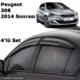 Kgn Cam Rüzgarlığı Mugen Peugeot 308 2014