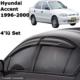 Kgn Cam Rüzgarlığı Mugen Hyundai Accent 98