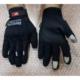 PRC Eldiven Gt 07 Ful Korumalı Parmaklı Siyah