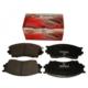 Ypc Mazda B2500- Pick Up- 04/06 Ön Fren Balatası (Disk)(10Lu)(142X53,5X16,5) (4X2) (Fmk)