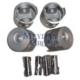 Ypc Mitsubishi Canter- Fe635/659- 98/06 Piston Set Std (4D32/34) 3.6/3.9Cc Çelik (104X3X2X4)(Tık)