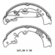Ypc Toyota Hilux- Pick Up Vigo- D4D 05/11 Arka Fren Pabucu 4X4 (147,50X50) (Daiwa)