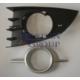 Ypc Renault Scenıc- Iı- 06/09 Sis Lamba Kapağı L Sis Delikli Siyah (Dış Çerçevesi Gümüş Gri) 2Parça