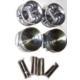 Ypc Nissan Sunny- B13- 90/94 Piston Std (Ga16) 1.6Cc (76X1.5X1.5X2.8) (Tık)