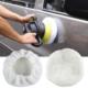 3D HD Beyaz Pasta Post Keçesi Kuzu Yünü 16 cm 105048