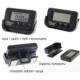 Modacar 6Lı Paket Mini Dijital Saat Tarih Kronometre Göstergesi 45A003
