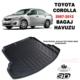 AutoEN Toyota Corolla SD 3D Bagaj Havuzu 2007-2012