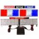 Tvet Çakar Lamba Mavi Kırmızı Beyaz 96 Ledli 3 Fonksiyonlu