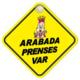 Automix Arabada Prenses Var Vantuzlu