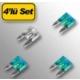 Automix Fişli Sigorta Mini 4Lü
