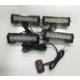 Space Çakar Lamba - Power Ledli - 4'lü (Kırmızı/Beyaz - Mavi/Beyaz) - 12V